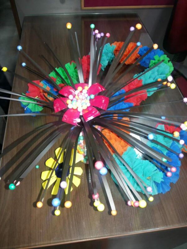 Wealth out of waste items creative crafts arts best out for Best out of waste ideas for class 7